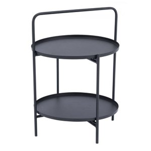 Leve End Table Black