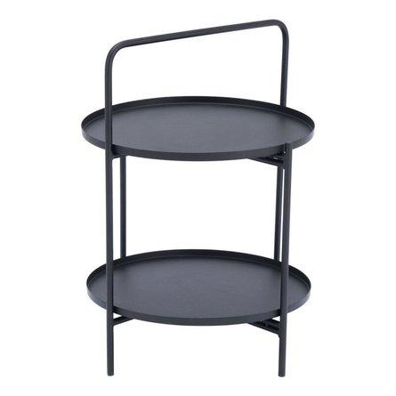 Leve End Table Black