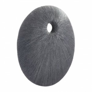 Round Eye Medium Plaque Dark Gray