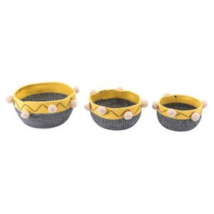 Lagos Baskets Multicolor (Set of 3)