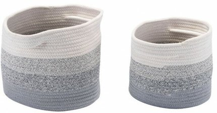 Maku Baskets With Handles Multicolor (Set of 2)