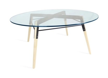 Ross Coffee Table Maple And Black