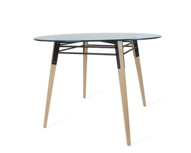Ross Dining Table Maple And Black