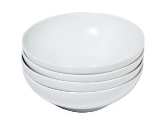 Snowe Bowls White (Set of 4)