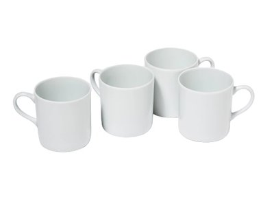 Snowe Mugs White (Set of 4)