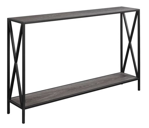 Anzia Console Table Gray
