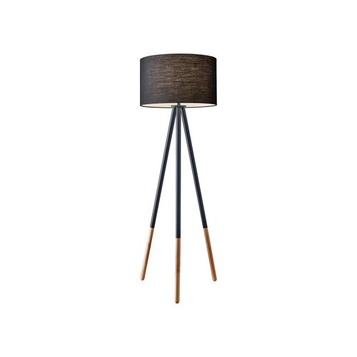 Lacy Tripod Floor Lamp Mette Black