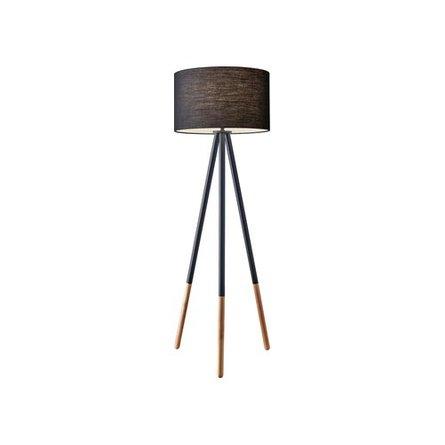 Lacy Tripod Floor Lamp Matte Black