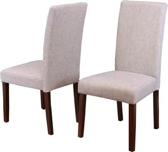 Whitman Dining Chair Tan (Set of 2)