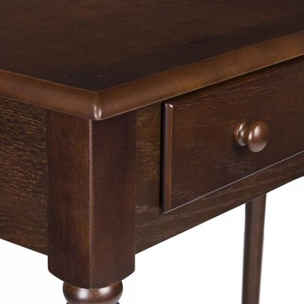 Obsidian Writing Desk Espresso