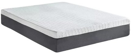 Medium Memory Foam Queen Mattress 12""