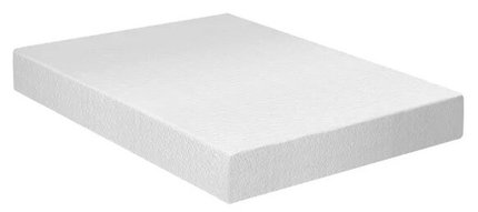 "Medium Memory Foam King 8"" Mattress White"