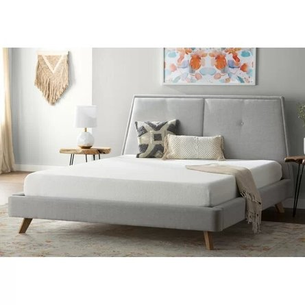 "Medium Memory Foam King 8"" Mattress White"