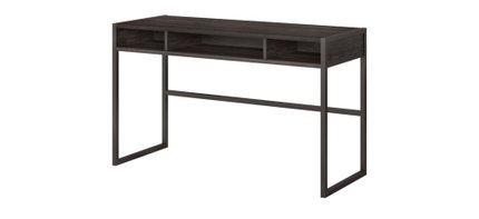 "Atria 48"" X 20"" Desk Return Charcoal Gray"
