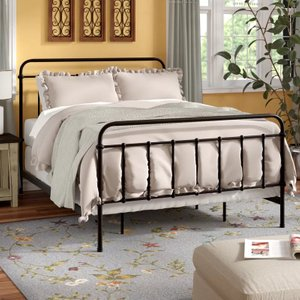 Jarvis Grove Panel King Bed Dark Bronze