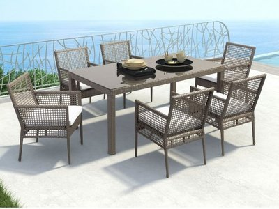 Alexia Outdoor Dining Package - 6 Seater