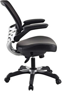 Edge Office Chair with Mesh Back  Black