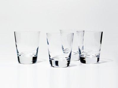 Snowe Short Tumblers Clear (Set of 4)