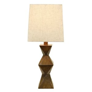 Salinger Table Lamp Dark Wood