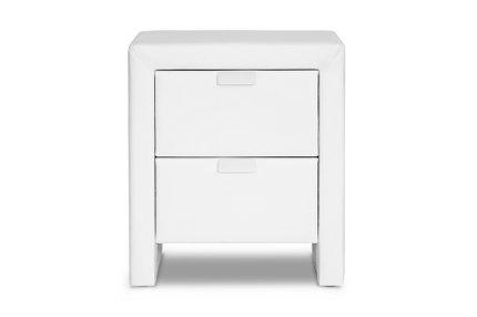 Baxton Studio Frey Modern Nightstand White
