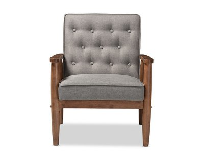 Ika Lounge Chair Gray
