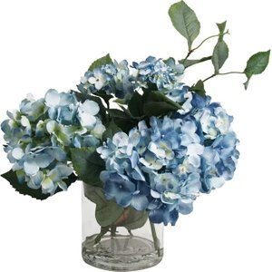Hydrangea Flower Spray Blue