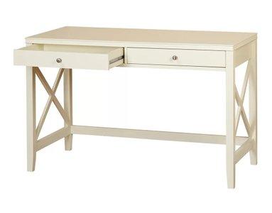 Kellog Writing Desk Antique White