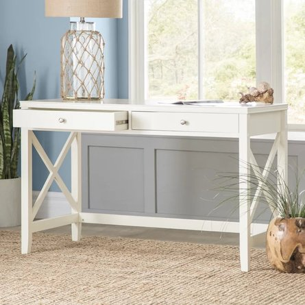 Kellog Writing Desk Antique White