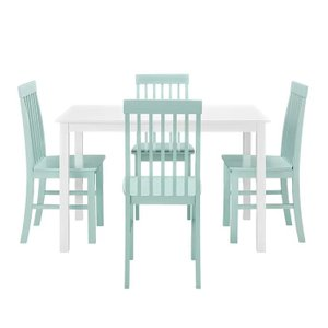 Endicott Dining Set for 4 Green