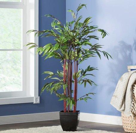 Alta Bamboo Silk Tree Green