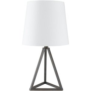 "Belmont 16.5"" Table Lamp Bronze/White"