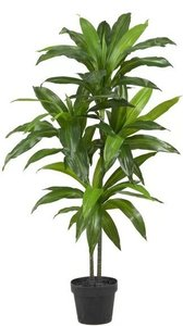 Silk Floor Plant Green