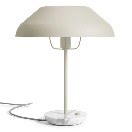 Beau Table Lamp Putty