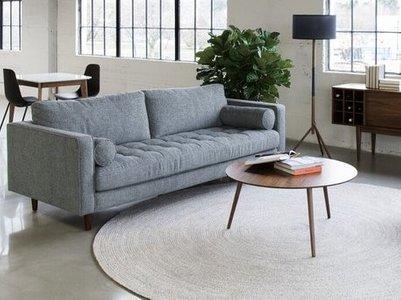 Brig Mid-Century Modern Living Room