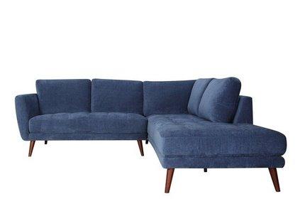 Casey Sectional Sofa RAF Blue