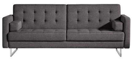 Chicago Sofa Bed And Chair Set Gray