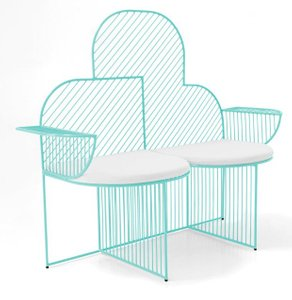 The Cloud Bench Aqua