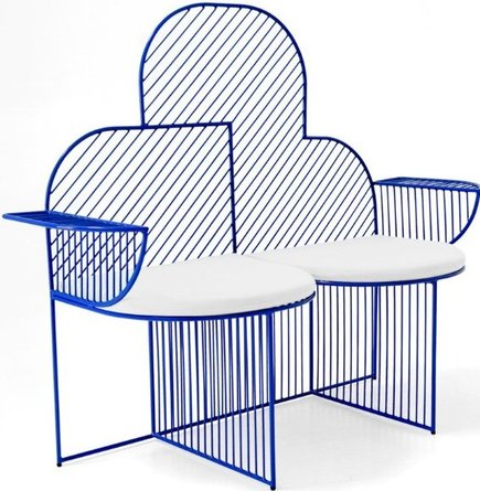 The Cloud Bench Electric Blue