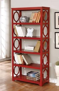 Zoey Display Shelf Red