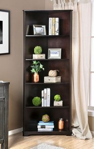 Rockwall Bookshelf Dark Walnut