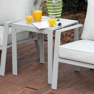 Cordelia Side Table Light Gray
