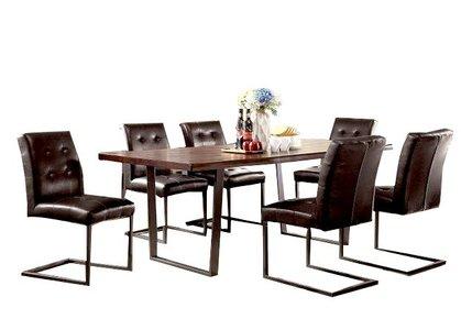 Pisek Dining Table Dark Oak