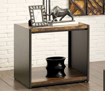 Reina End Table Matte Black