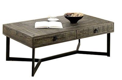 Veblen Coffee Table Dark Oak And Espresso