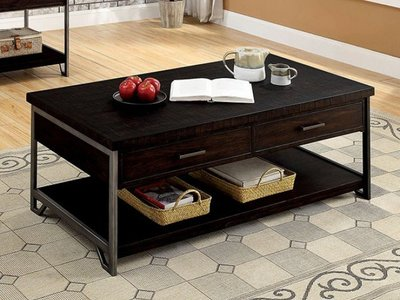 Wasta Coffee Table Dark Oak