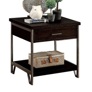 Wasta End Table Dark Oak