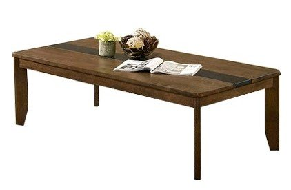 Jacob Coffee Table Light Walnut And Gray