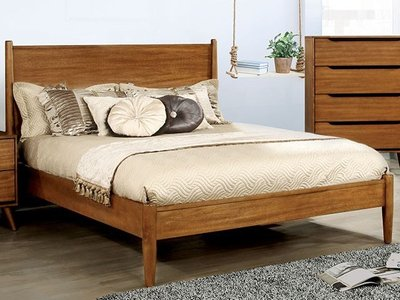 Lennart Queen Bed Oak