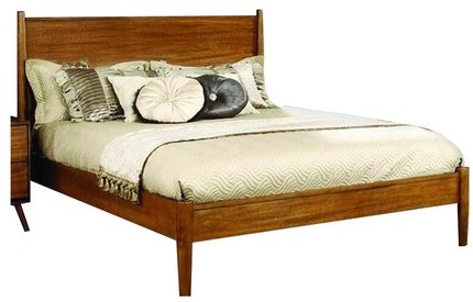 Lennart Queen Bed Oak