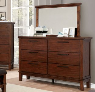 Knighton Dresser Brown Cherry